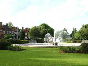 Coronation Fountain Welwyn Garden City by Spearhead