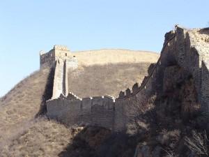 Great Wall of China by Saad Akhtar
