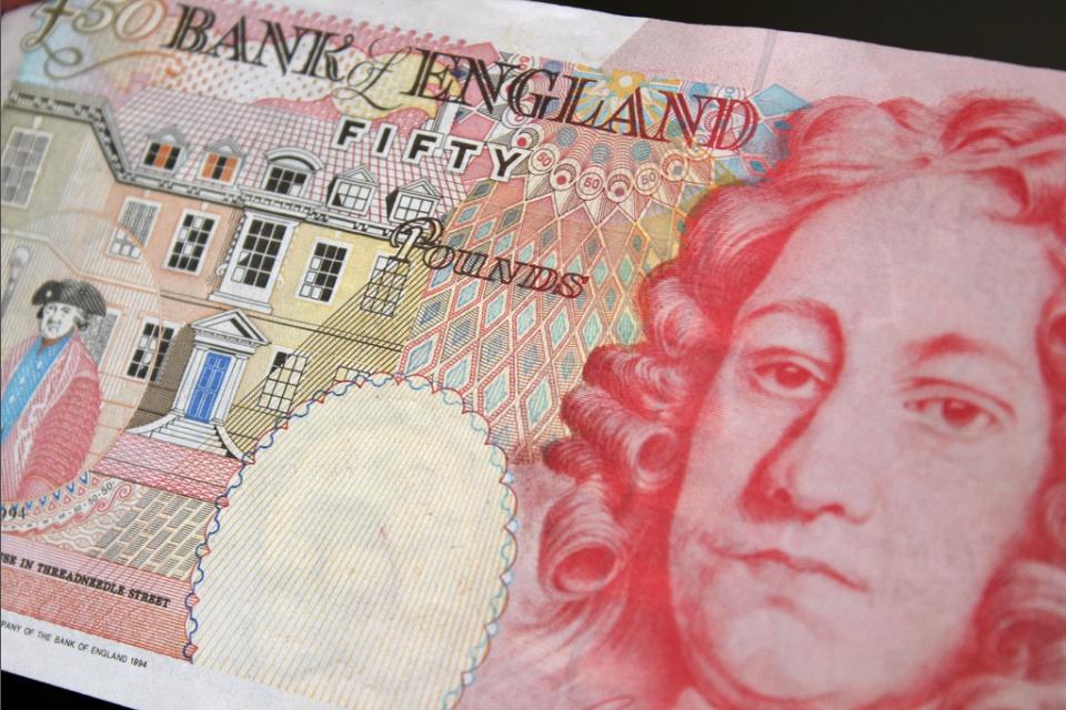 Houblon £50 Banknote