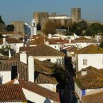 Obidos villas Portugal by Osvaldo Gago via Wikimedia Commons