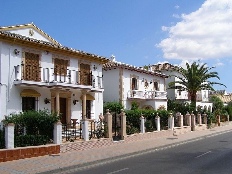 Spanish property by Andrzej Otrebski