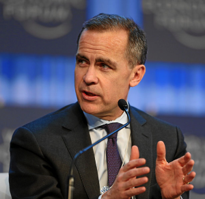 Mark Carney - by World Economic Forum