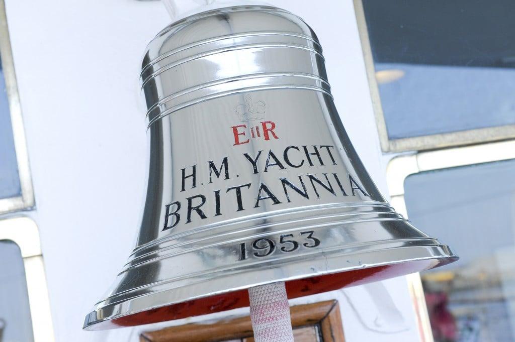 HM Yacht Britannia Bell