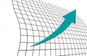 upward trend graph (PD)