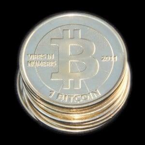 Bitcoin coins (PD)