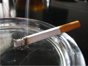 Cigarette by Tomasz Sienicki