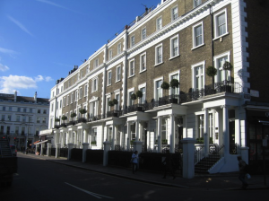 Fine London Houses by Sebastian Ballard via Wikimedia Commons