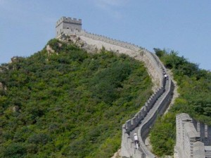 Great Wall Tower by Leonard G