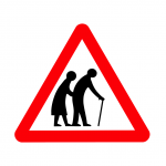 Old People Sign (PD)