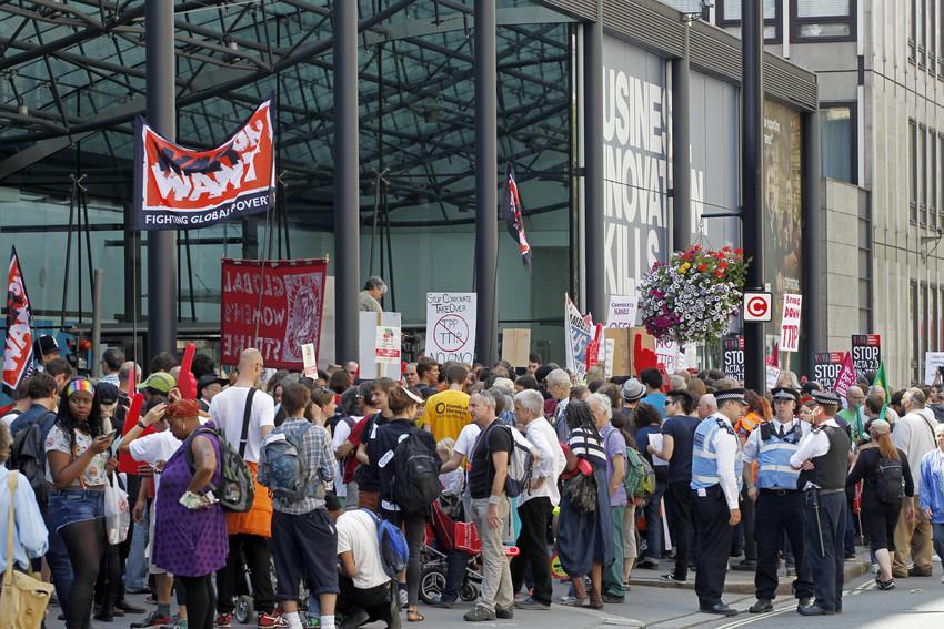 TTIP Protest - Glyn Thomas/WorldDevelopment Movement