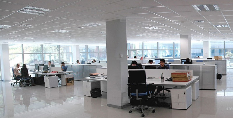 Office Interior by Karlos bostnan