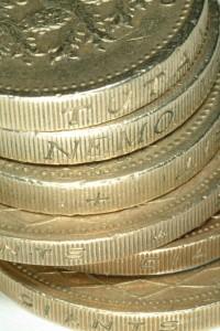 GBP Coins - FreeFoto.com