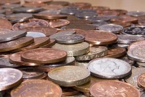 Coins - FreeFoto.com