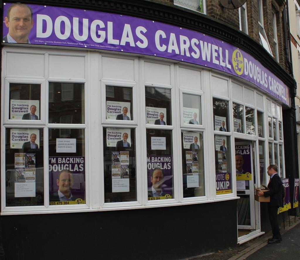 UKIP Douglas Carswell Clacton Office