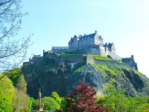 Edinburgh Castle (PD)