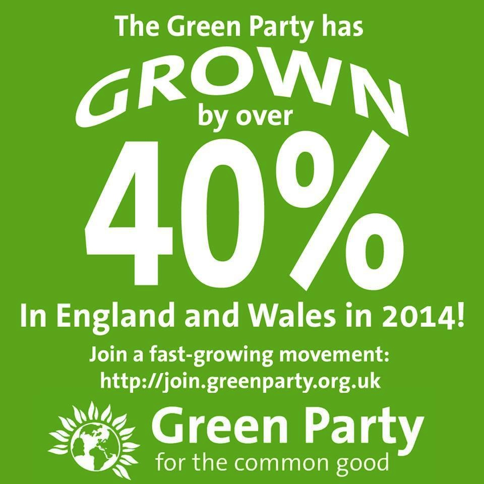 Green Party Growth