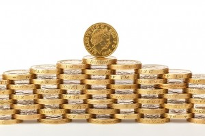 Pound Coin Pile (PD)