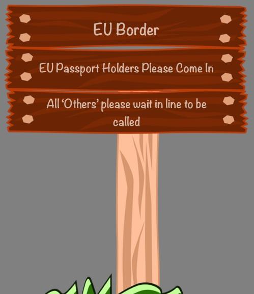 EU Border Notice