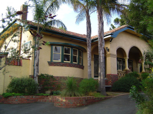 Spanish Mission Style House (PD)