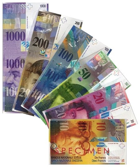 Swiss Francs (PD)