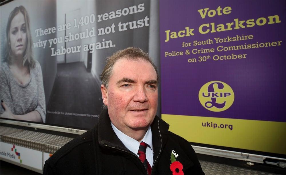 UKIP Jack Clarkson 1400 reasons to vote