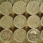 GBP coins by FreeFoto.com