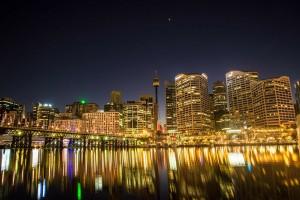 Office lights Darling Hbr Australia