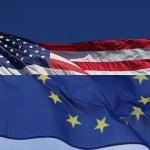 USEU Flags - FreeFoto