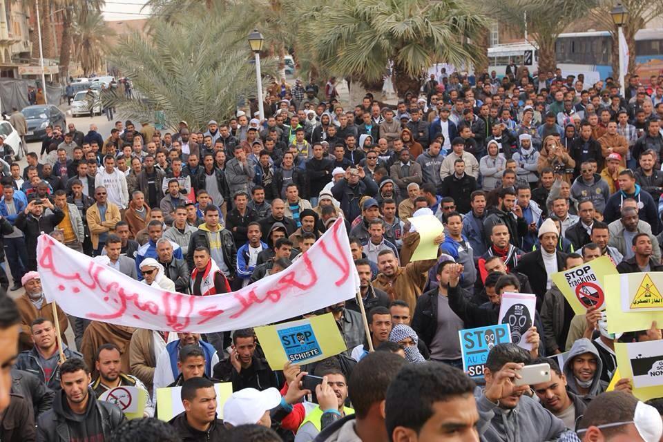 Algeria fracking protests