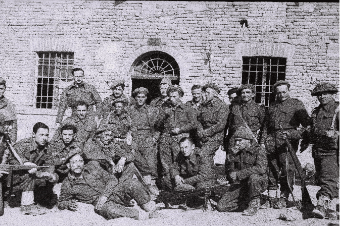 Soldiers from the Jewish Brigade