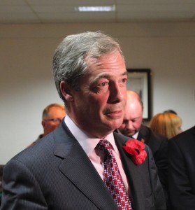 Nigel Farage Hoo 2014-5