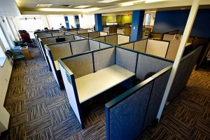 Office Cubicles by Asa Wilson
