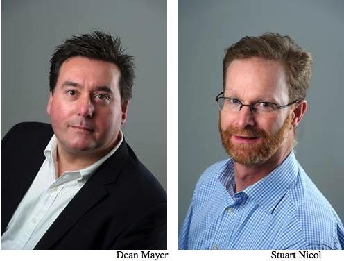 Dean Mayer and Stuart Nicol