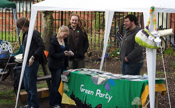 Green Party - Pete Birkinshaw (CC BY 2.0)