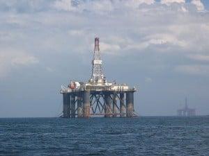 North Sea Oil Rig (PD)