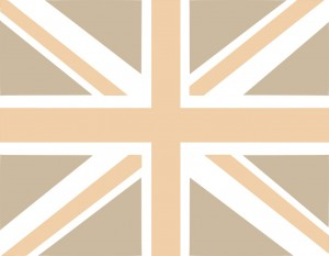 UK Flag Beize (PD)