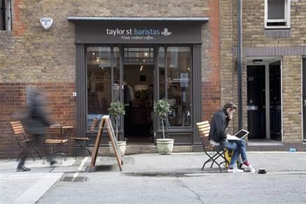 Taylor St Baristas, Mayfair, London