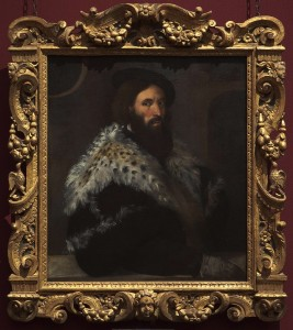 Titian, Portrait of Girolamo Fracastoro, about 1528 © The National Gallery, London