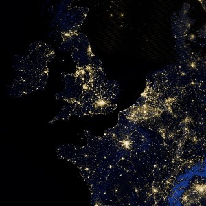Light Pollution UK by By NASA Goddard Space Flight Center (CC BY 2.0)