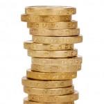 GBP coin column