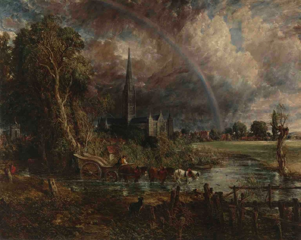 John Constable  Salisbury Cathedral from the Meadows 1831 © Tate, London 2013 Purchased with assistance from the Heritage Lottery Fund, The Manton Foundation, the Art Fund (with a contribution from the Wolfson Foundation) and Tate Members