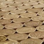 Money GBP coins (PD)