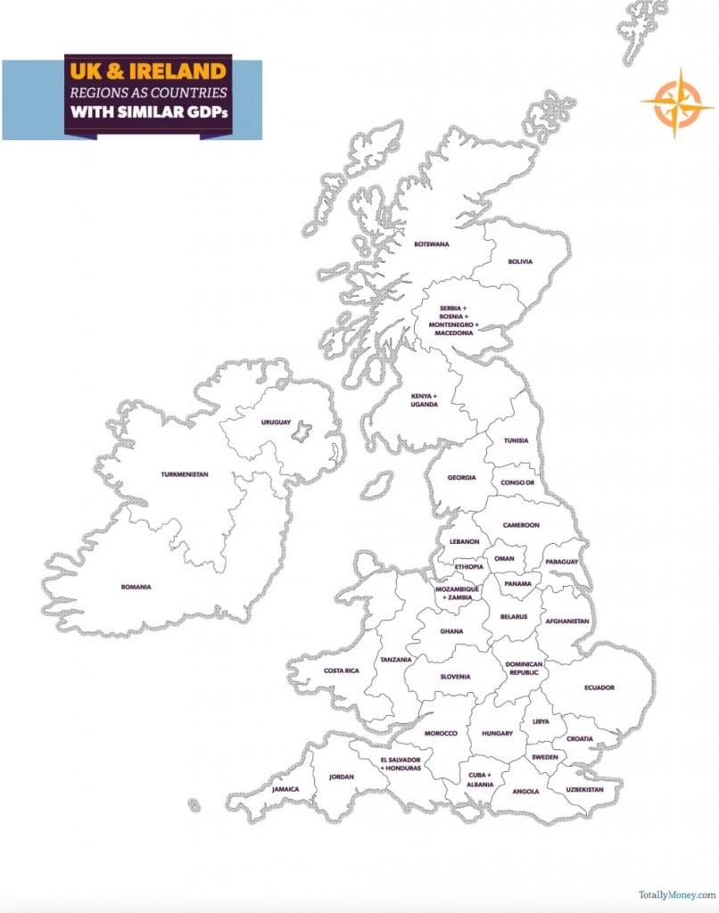 TotallyMoney UK Map