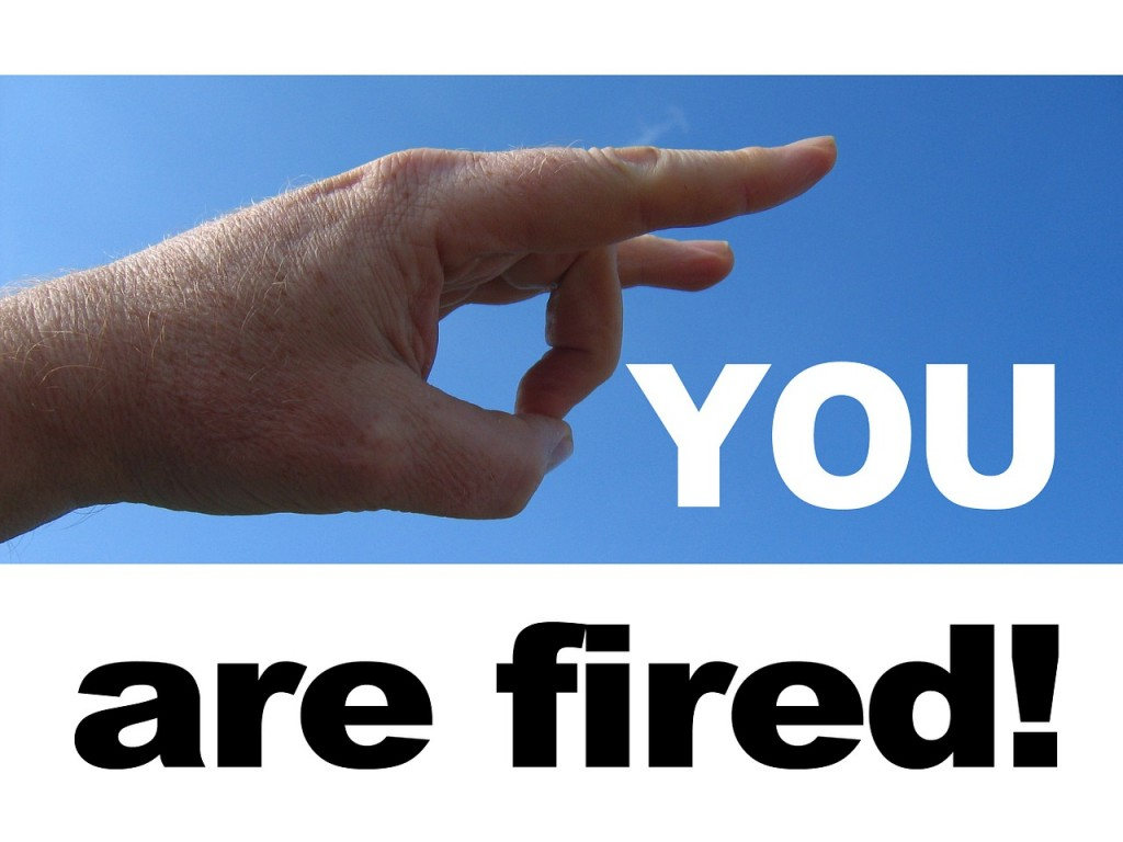 You are fired (PD)