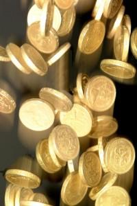 Falling money - FreeFoto.com