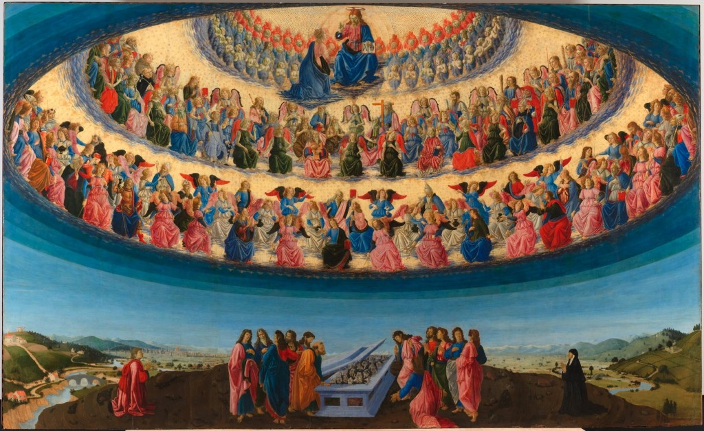 Francesco Botticini, The Assumption of the Virgin-probably about 1475-6 © The National Gallery
