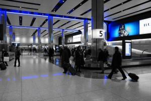 Heathrow Baggage Hall (PD)
