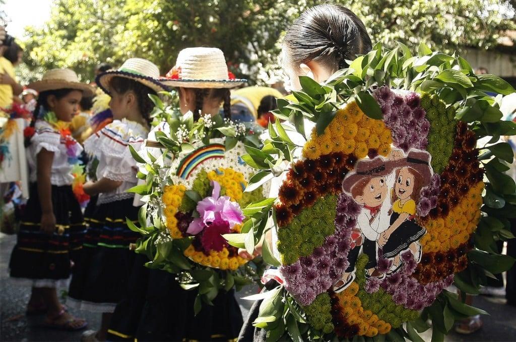 Medellin Flower festival 2