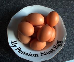 Pension Nest Egg