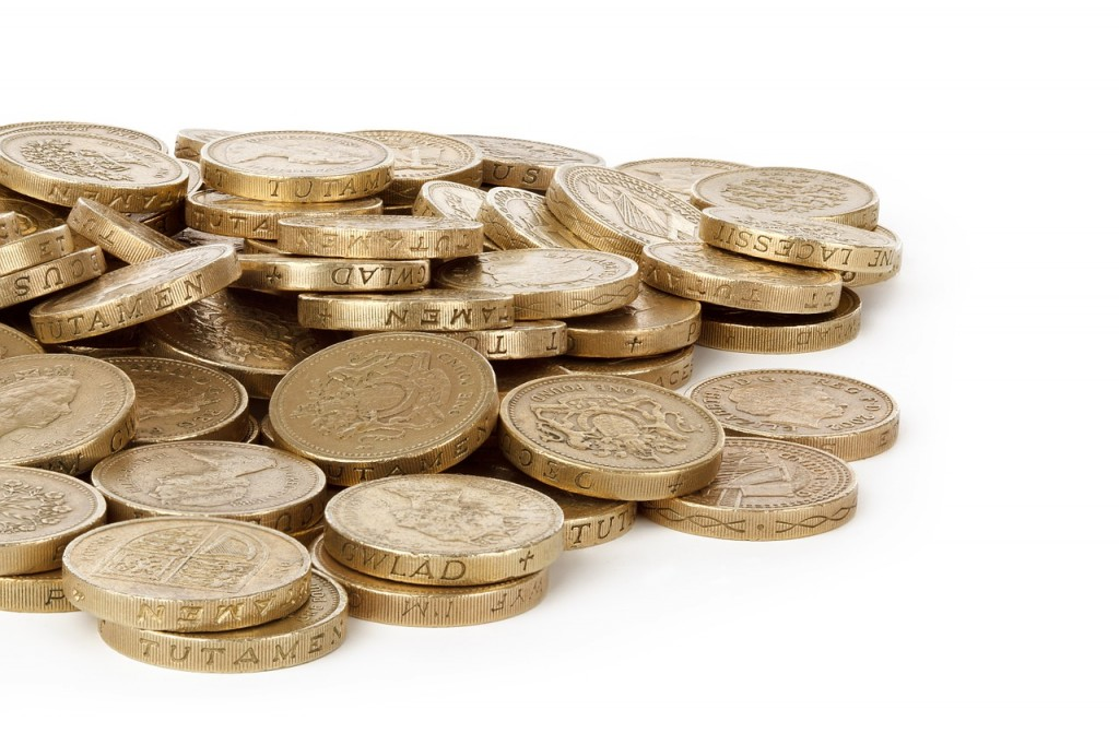Sterling coins (PD)
